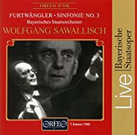 フルトヴェングラー:交響曲第3番「宿命」 (Furtwangler, Wilhelm: Symphonie Nr. 3)