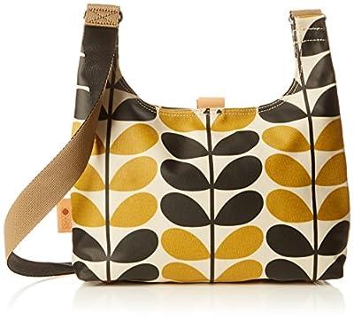 Orla Kiely Stem Check Print Mini Sling Bag