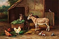 クラシック大人のためのジグソーパズル300ピースロバと鶏DIY木製パズル子供のおもちゃ 23x15inモダンウォールアートユニークなギフト家の装飾クリスマスパズル
