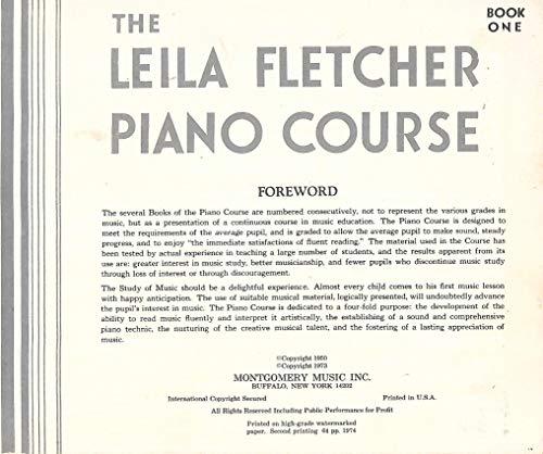 The Leila Fletcher Piano Course (Book One)