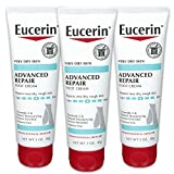 Eucerin Advanced Repair Foot Cream - Fragrance Free, Foot Lotion for Very Dry Skin - 3 oz. Tube...