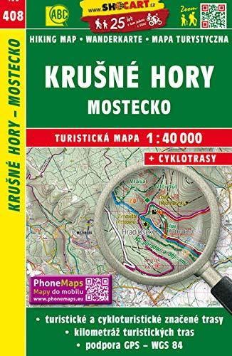 Krušné hory - Mostecko / Erzgebirge - Brüx (Wander - Radkarte 1:40.000): Turisticke Mapy Cesko (SHOCart Wander - Radkarte 1:40.000 Tschechien, Band 408)