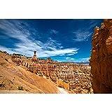 Puzzle Parque Nacional De Utah Madera Rompecabezas Serie Bryce Canyon De La Sala De Decoración Regalos 500/1000/2000/3000/4000 Piezas Master Challenge 1019 (Color : Partition, Size : 500 Pieces)
