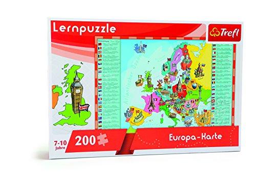 Small Foot - 10418 - Puzzle d'Apprentissage - Carte de l'Europe