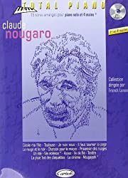 Nougaro Claude Collection Total Piano (Lanone) Pf Book/Cd French