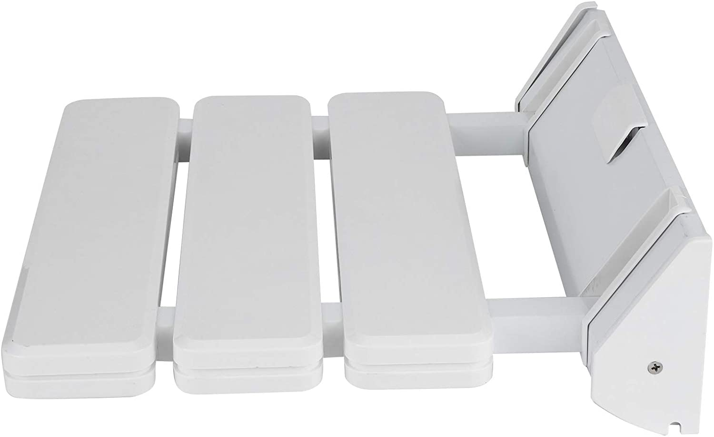 Shower Bench Bath Seats Wall Mounted Aluminum Alloy Plastic Mate