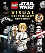 LEGO Star Wars Visual Dictionary New Edition - With exclusive Finn minifigure de DK