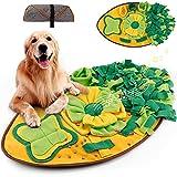 Amzeeniu Snuffle Mat para Perros Alfombra de Actividades para Mascotas Alfombra Olfato Perro Gatos Mascotas Estera Tapete de Entrenamiento Rompecabezas Juguetes de alimentación Olfatear Mascotas
