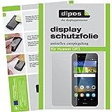 dipos I 2X Schutzfolie matt kompatibel mit Huawei GR3 Folie Bildschirmschutzfolie
