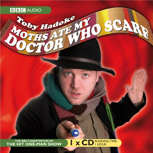 Moths Ate My 'Doctor Who' Scarf audiobook cover art