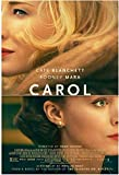 Carol Film Kate Blanchett Rooney Mara Sarah Paulson Poster
