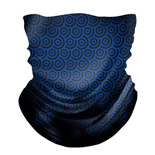 Mowei Herren/Damen UPF 50+ UV-Schutz Nahtlos Halstuch Schlauchtuch atmungsaktiv Mundschutz Maske kühl hochelastisch für Laufen Radfahren Klettern Motorradfahren