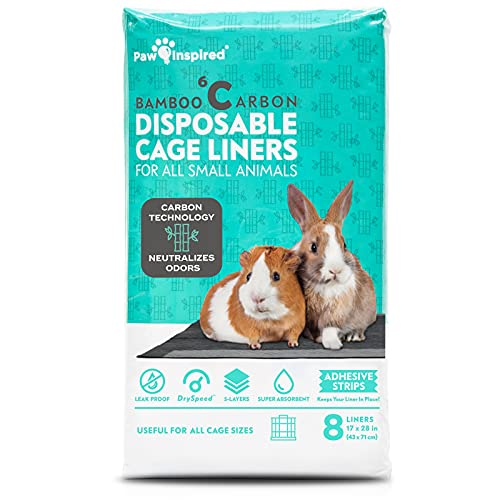 """Paw Inspired Disposable Guinea Pig Cage Liners 