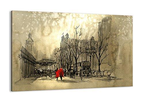Cuadro sobre Lienzo - de una Sola Pieza - Impresión en Lienzo - Ancho: 120cm, Altura: 80cm - Foto número 3190 - Listo para Colgar - en un Marco - AA120x80-3190