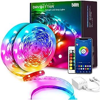 2-Pack Daybetter 25 Ft. Smart App Led Lights