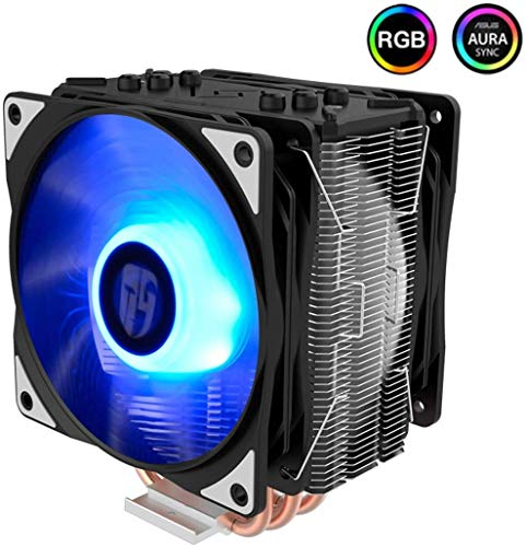 LEIXIN Heat sink Cpu Radiator Host Fan Koper Buis Mute Amd Desktop Computer Am4 (Kleur : C)