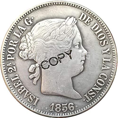 9 Monedas España 20 Reales Copia Monedas