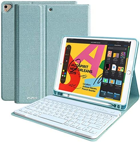 iPad 8th Generation Keyboard Case 10 2 2020 iPad 8th Gen 10 2 2019 iPad 7th Gen Auto Sleep Wake product image