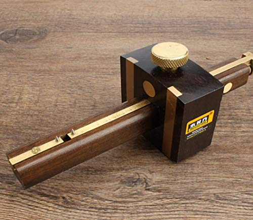 Hycy Luxus Indonesien Ebenholz + Reinem Kupfer Abgrifffeste Tischler Holzbearbeitungswerkzeug 8 Zoll Schraube Schneiden Gauge Mark Schaber Scribers