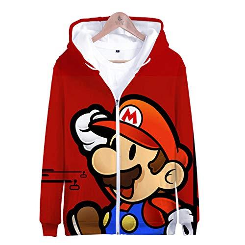 Super Mario 3D Imprimer Hoodies Jeunes Garçons Mode Sweat À Capuche Sweat Hommes Femmes Unisexe Enfants Chaud Streetwear Veste Manteau Vêtements
