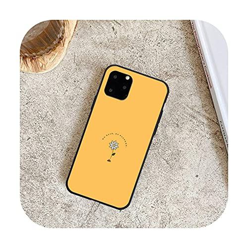 Lujo Romántico Simple Flor Teléfono Casos para iPhone 8 7 6 6 S Plus X 5S SE 2020 XR 11 12 Pro mini pro XS MAX-a3-Para iphone7 8 Plus