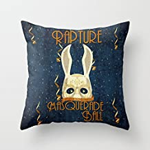 GOOESING Rapture Masquerade Ball 1959 Comfortable Beautiful Pillow Case/Pillow Cover 50% Cotton & 50% Polyester Size 18x18 Inches