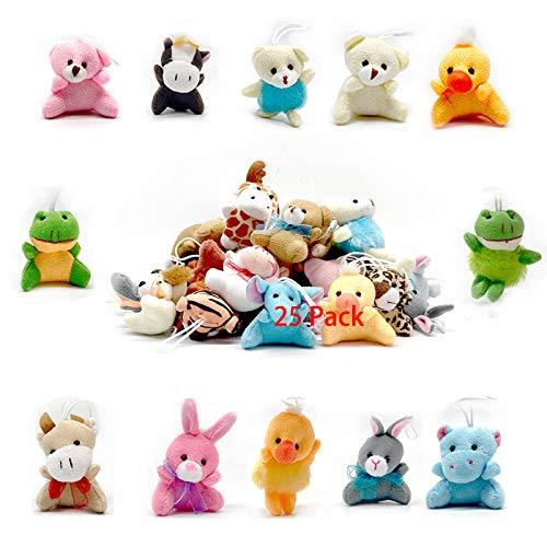Stuffed Animals Bulk Toys Easter Egg Fillers Easter Gift for Girlfriends Kids (25 Pack)