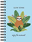 Sloth Journal - Slow Down: Enjoy the Moment (Journal / Notebook / Diary)