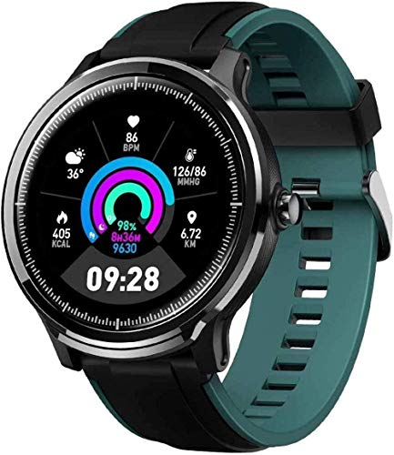 Reloj inteligente para teléfonos Android e iPhones impermeable Smartwatch Actividad Fitness Tracker con monitor de ritmo cardíaco