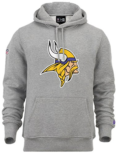 New Era - NFL Minnesota Vikings Team Logo Hoodie - Grey - M