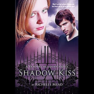 Shadow Kiss audiobook cover art