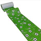 JUNOPAX 54785293 Papiertischläufer 50m x 0,20m Fußball Soccer Football nass- und wischfest