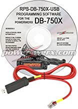 Powerwerx RPS-DB750X-USB PC Programming Kit (Includes Software on CD & USB Cable) for DB-750X