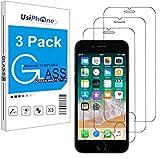 UsiPhone - Lot de 3 Verre Trempé pour iPhone 6 / 6S, iPhone 7/8, iPhone Se 2020 (4.7') Film Protection écran HD - Anti Rayures -...