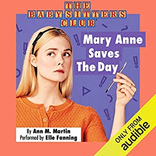 Mary Anne Saves the Day cover art
