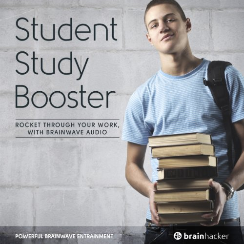 Student Study Booster Session audiobook cover art