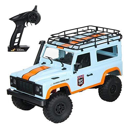 ZCYXQR Camión RC 1/12 Coche RC Modelo a Escala Completa Coche de Control Remoto 2.4G 4WD Motor Cepillado Control Remoto Off-Road Crawler RC Cars Drift V (Regalo de cumpleaños Festivo)