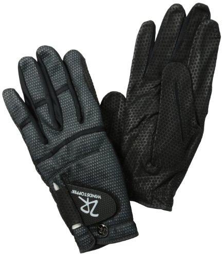 Zero Restriction Men's Windstopper Winter Gloves, Black, Medium