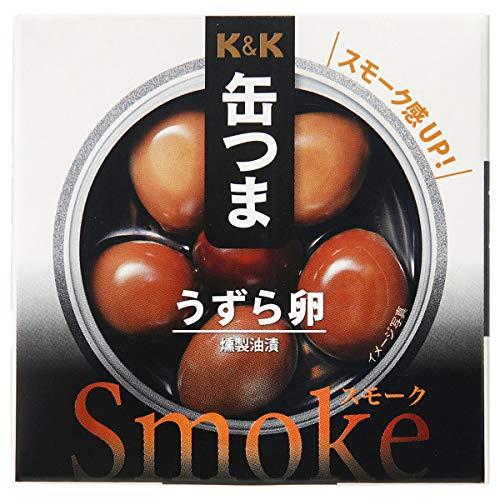 K&K 缶つまスモーク うずら卵 5個