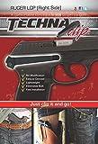Techna Clip - Fondine unisex TECLCP-BR, taglia unica, colore: Nero
