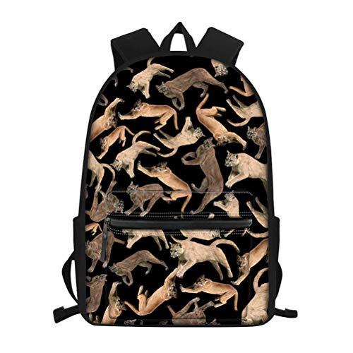 MODEGA Mochila de viaje para niñas, diseño vívido, mochila para estudiantes con...