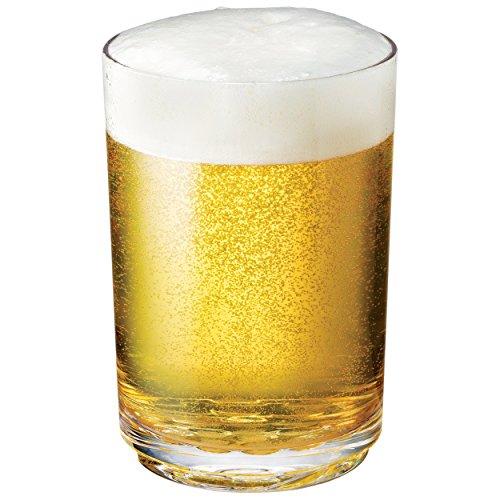 Drinique Elite Pint Unbreakable Tritan Beer Glasses, 16 oz (Set of 4), Clear