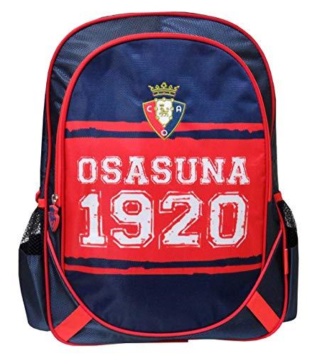 Osasuna MC-02-SA Mochila Bordada Adaptable a Carro, 43 cm