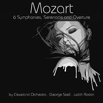 Mozart: 6 Symphonies, Serenade and Overture