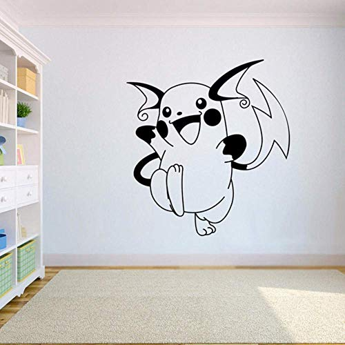 Vinyl Poster Pokemon Go Vinyl Wandaufkleber Home Decor Kinderzimmer Schlafzimmer Kunst Wandtattoo 57 * 62Cm