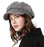 Superora Boinas Mujer Francesa Vintage Sombreros de Mujer Fiesta Invierno Clásico Gorro...