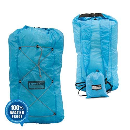 LOWID Outdoor Dry Backpack, bleu, 25 cm x 22 cm x 50 cm