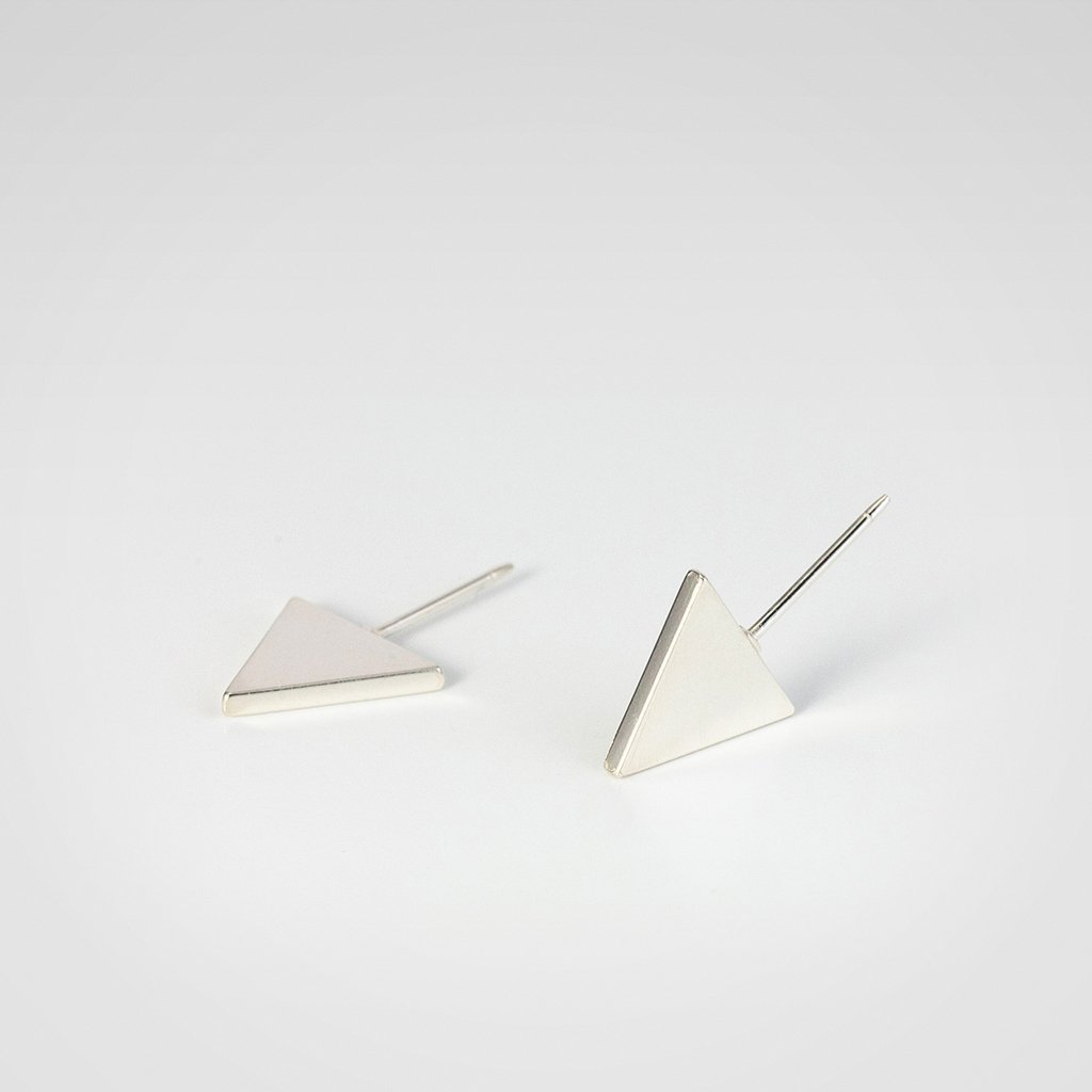 Flat Triangle Dealing full Max 60% OFF price reduction Earrings