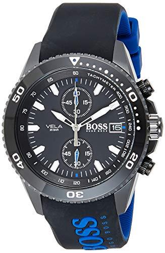 Hugo Boss Reloj Cronógrafo para Hombre de Cuarzo con Correa en Silicona 1513776
