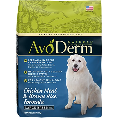 AvoDerm Natural Large Breed Dry Dog Food